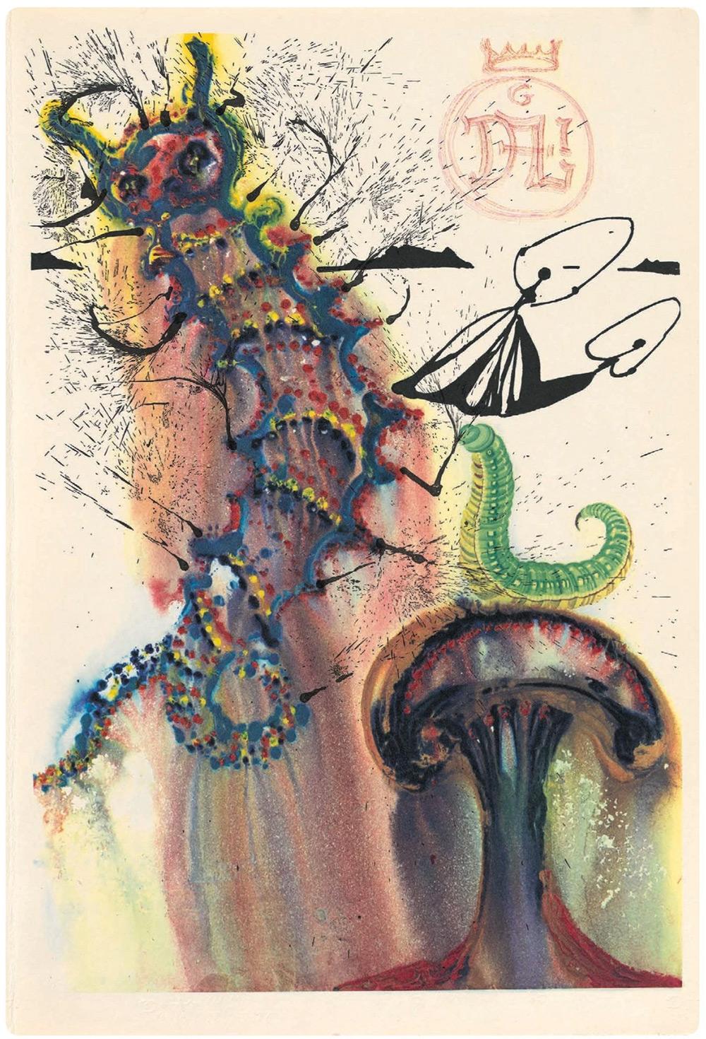 Dalí y Alicia en el País de las Maravillas 5