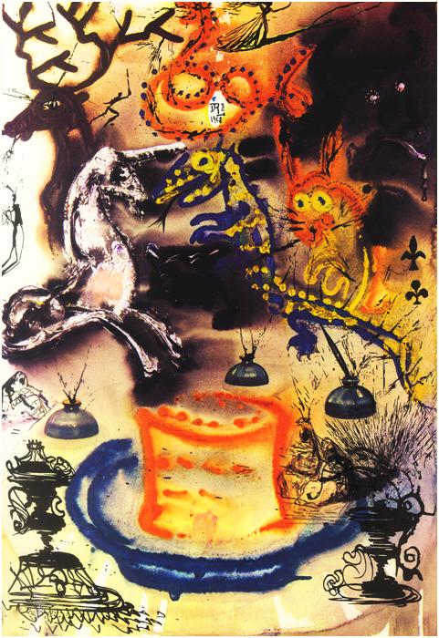 Dalí y Alicia en el País de las Maravillas 6