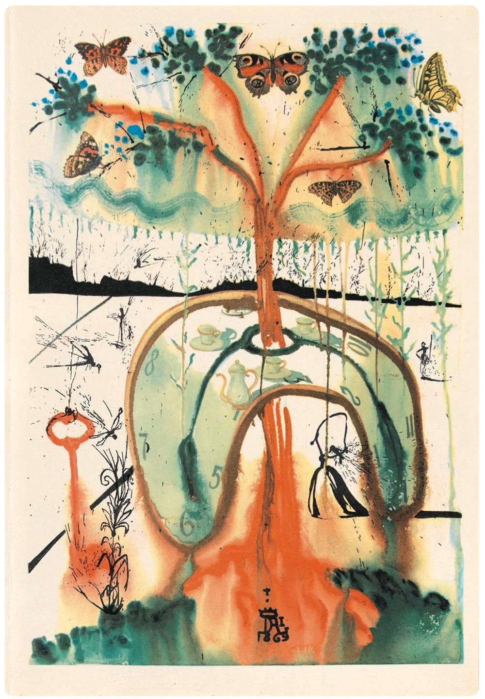 Dalí y Alicia en el País de las Maravillas 8