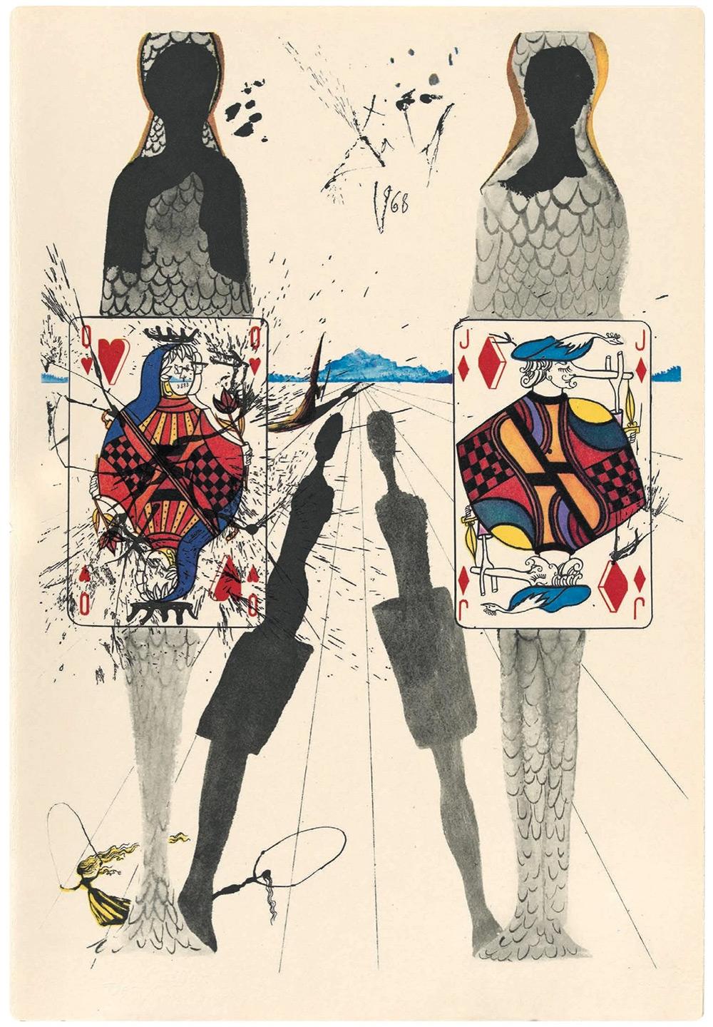 Dalí y Alicia en el País de las Maravillas 9