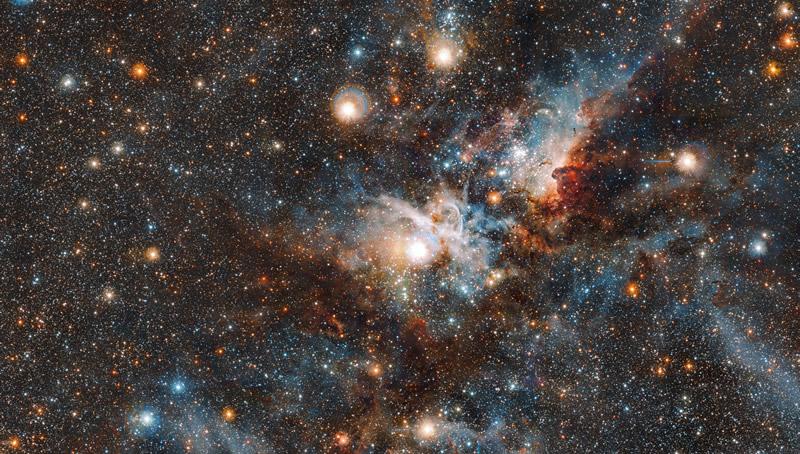 La nebulosa Carina en todo su esplendor
