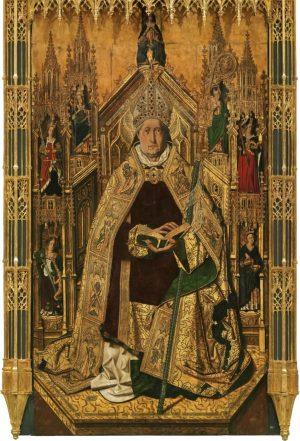 Bartolomé Bermejo Santo Domingo de Silos entronizado como obispo