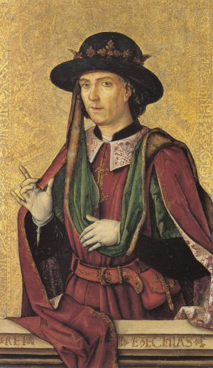 Pedro Berruguete – Ezequías
