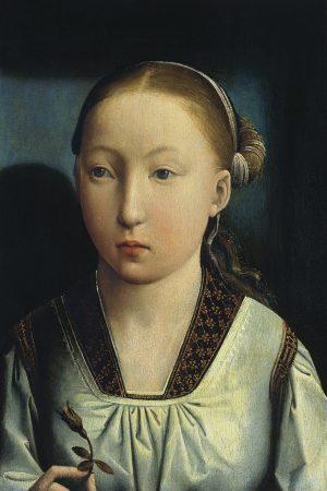 Juan de Flandes: Retrato de una infanta