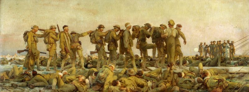 John Singer Sargent (1856–1925) Gassed. IWM (Imperial War Museums)