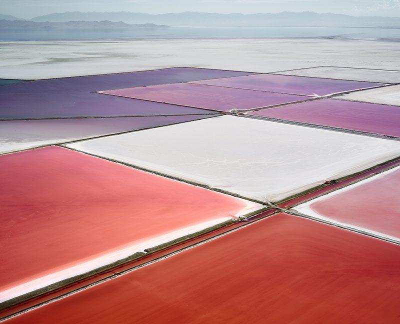 David Burdeny. Gran lago salado, Utah (EEUU)