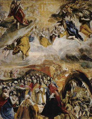 El Greco: La adoración del Nombre de Jesús