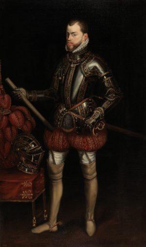 Tiziano [ca. 1485-1576]: Felipe II, 1551