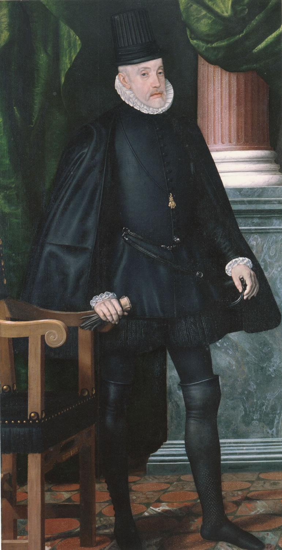 Resultado de imagen de Pantoja de la Cruz. Felipe II.