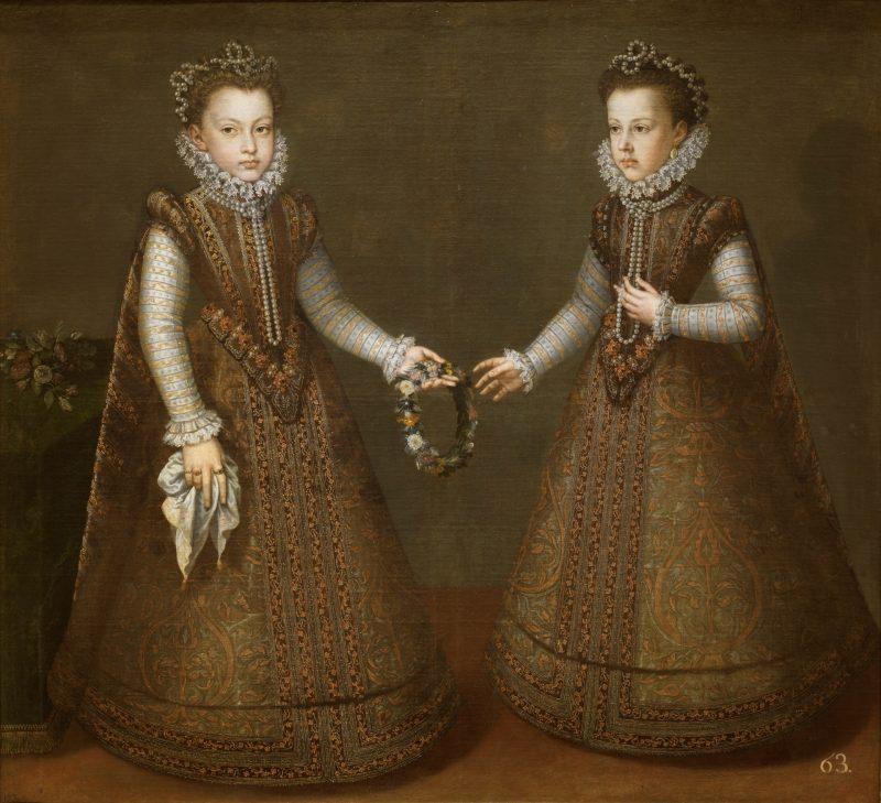 Las infantas Isabel Clara Eugenia y Catalina Micaela