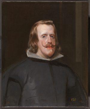 Diego Velázquez Felipe IV anciano