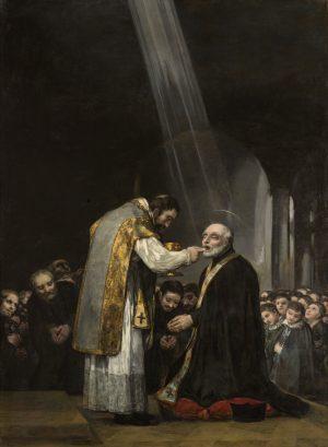 Goya. La última comunión de san José de Calasanz