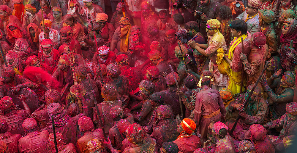 Holi festival, Nandgaon