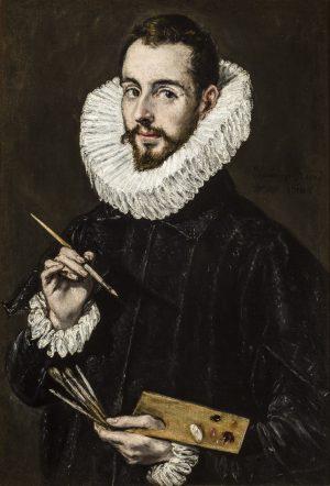 El Greco. Retrato de un pintor