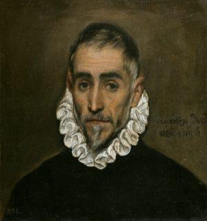 El Greco. Caballero anciano