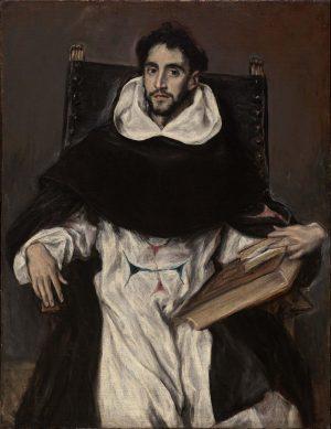 El Greco. Fray Hortensio Félix Paravicino