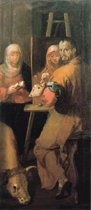 Francisco Ribalta San Lucas pintando a la Virgen