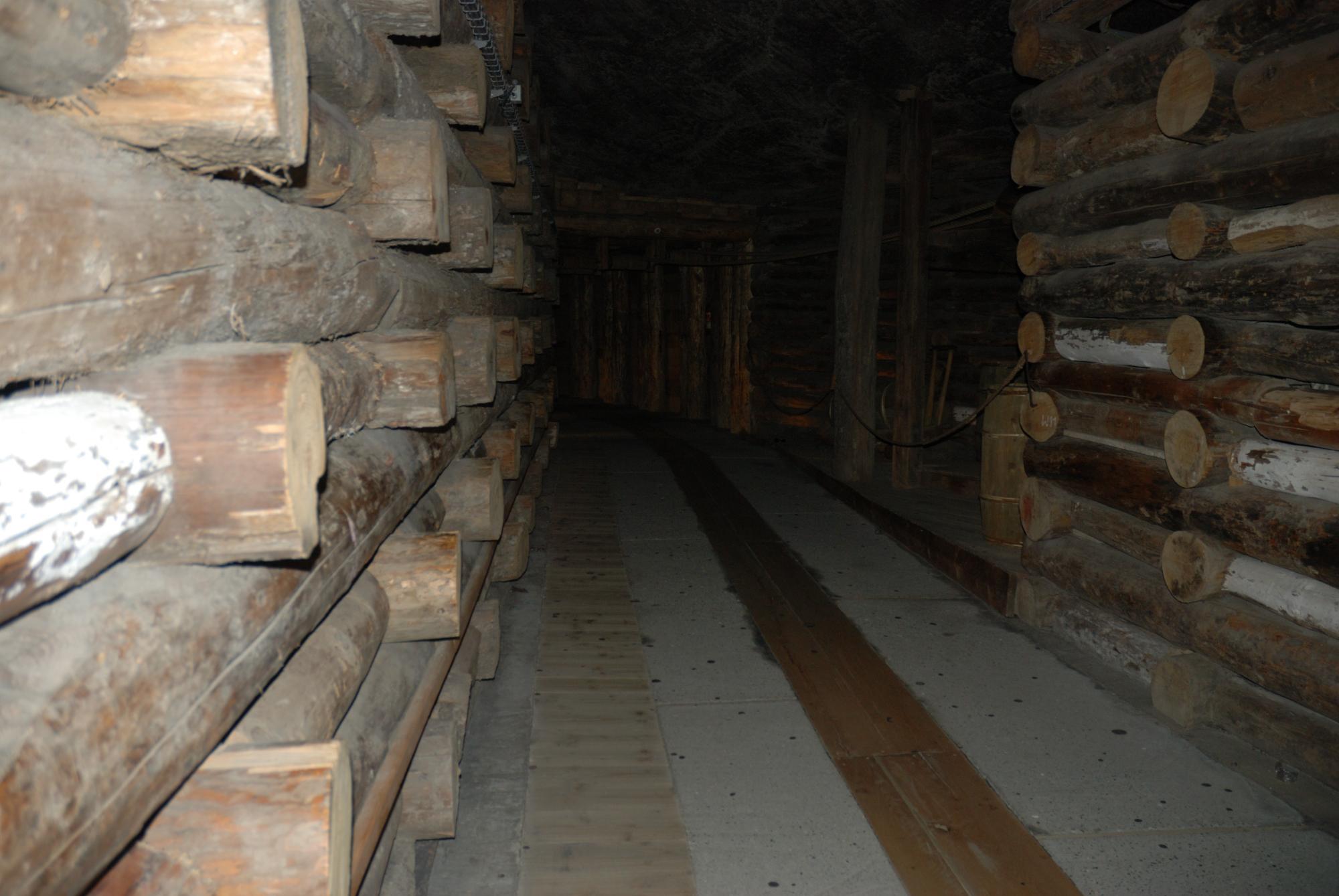 Minas de sal de Wieliczka. Galería