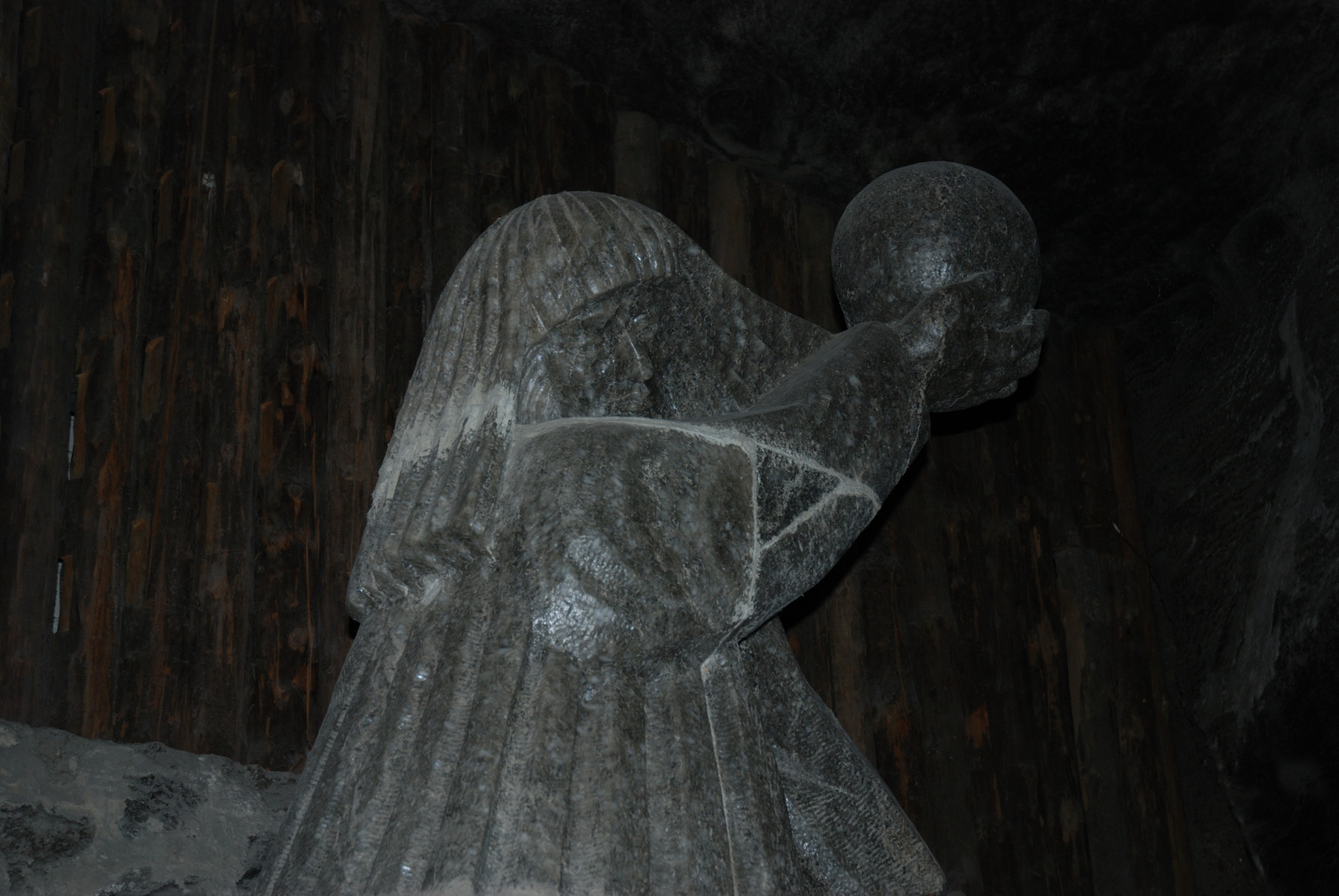 Minas de sal de Wieliczka. Estatuas de sal