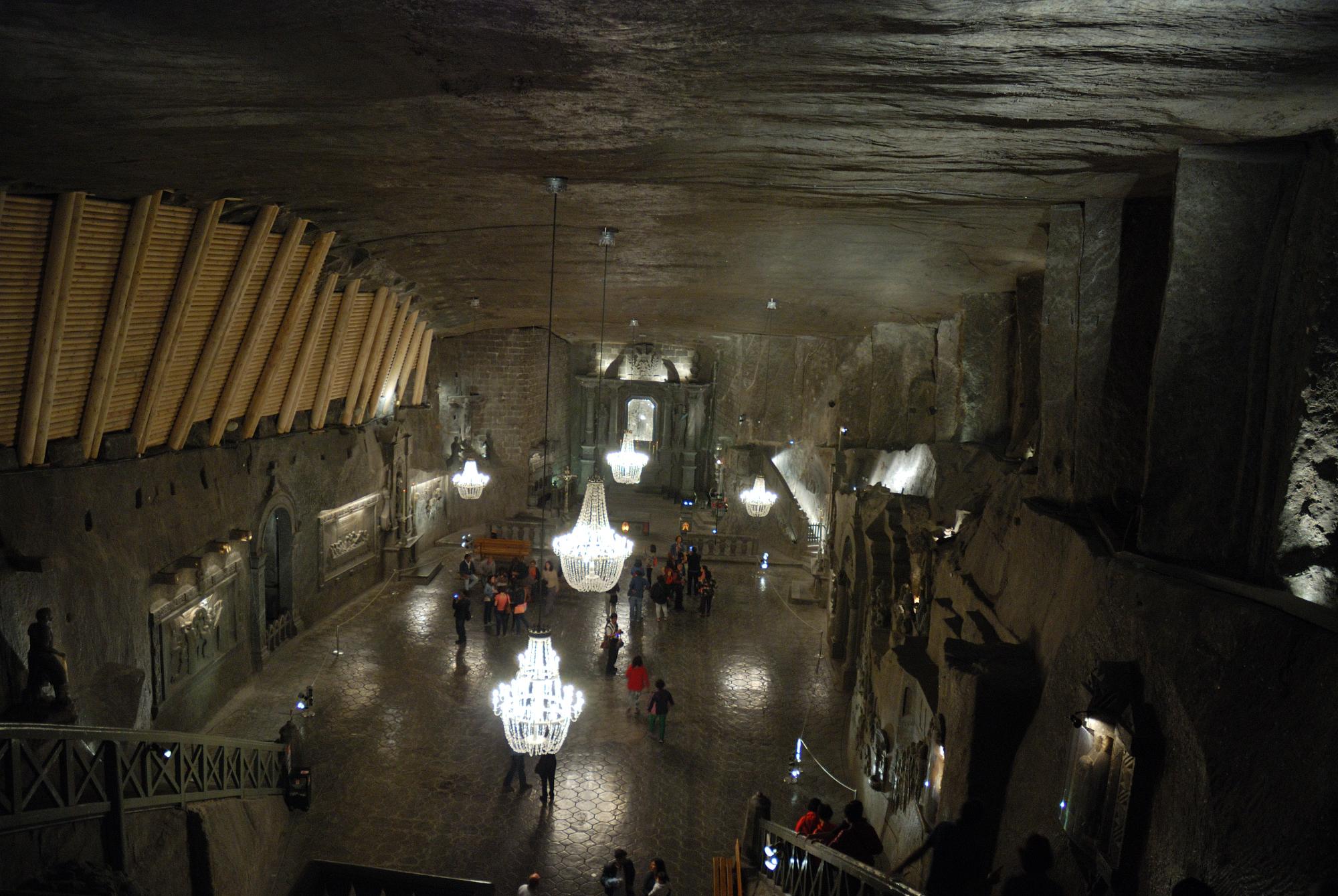 Minas de sal de Wieliczka. Capilla de sal
