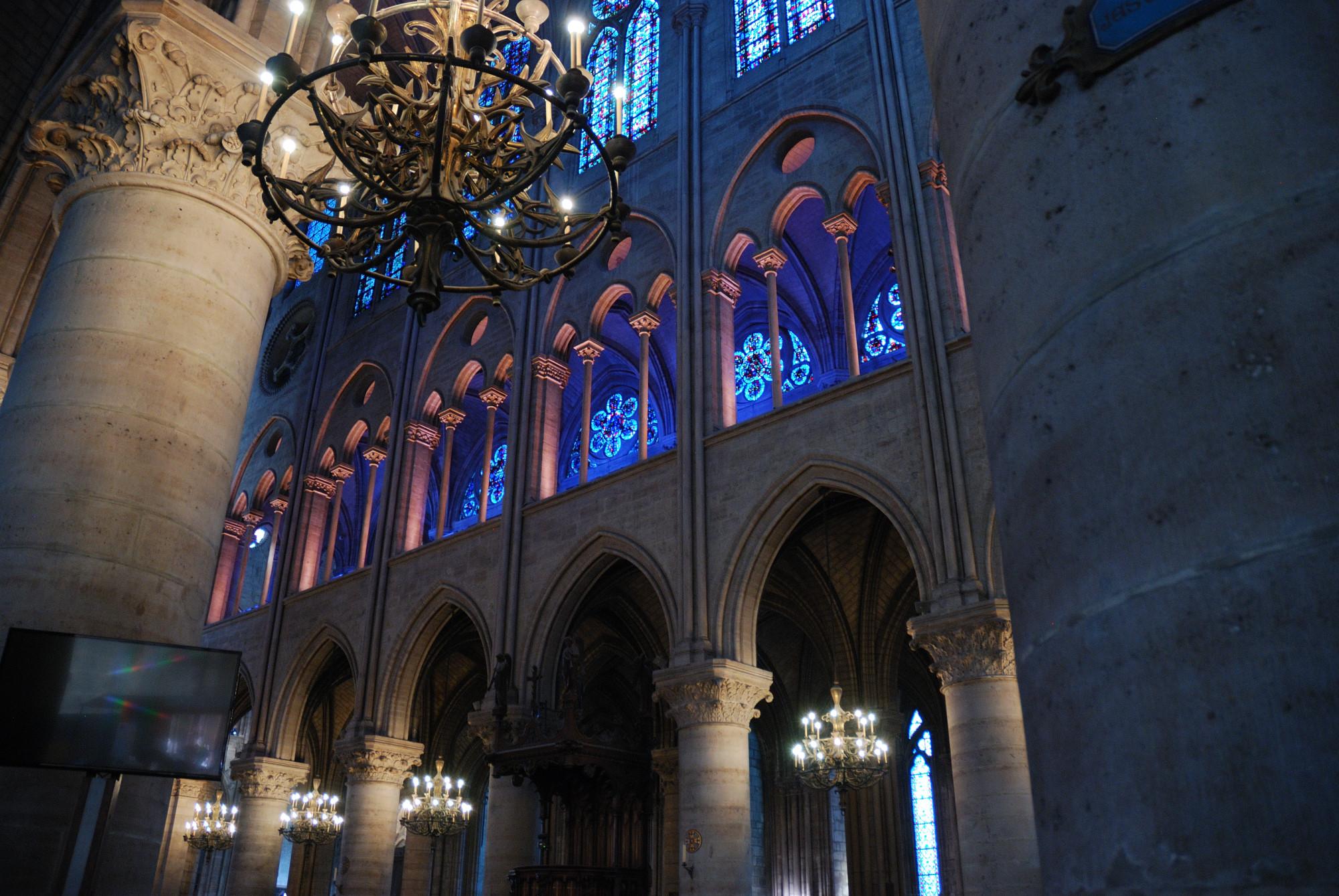 Notre Dame. Arcadas