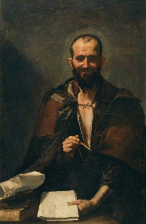 José de Ribera (1591-1652): Demócrito (?), 1630.