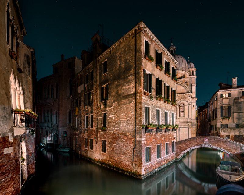 Fotografía de Thibaud Poirier. Serie Sleeping Venice.