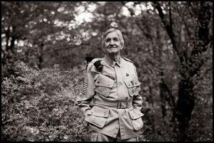 Carl Beck, que saltó en Ste. Mera Eglise, 50 años después del día D