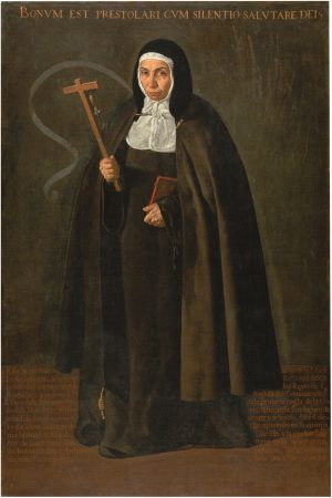 Diego Velázquez: La venerable madre Jerónima de la Fuente