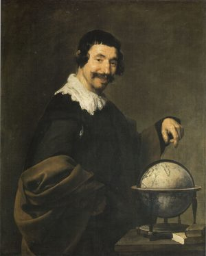Diego Velázquez (1599-1660): Demócrito, 1627-1628 y 1639-1640