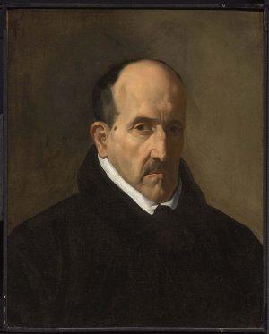 Diego Velázquez (1599-1660): Luis de Góngora, 1622.