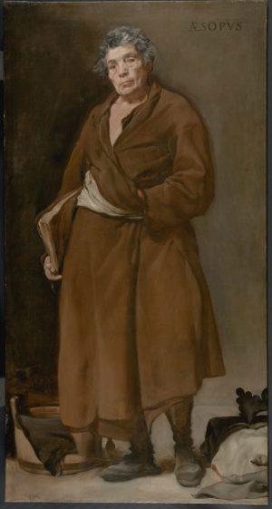 Diego Velázquez: Esopo, ca. 1638