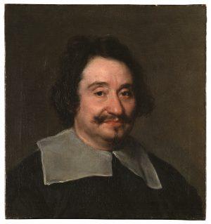 Diego Velázquez (1599-1660): Retrato de hombre, el llamado «Barbero del Papa».