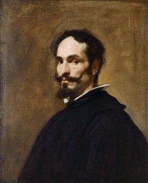 Diego Velázquez (1599-1660): Retrato de hombre, ca. 1640-1650.