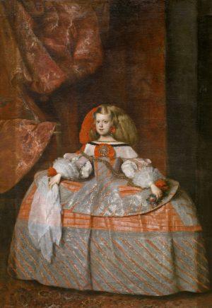 Juan Bautista Martínez del Mazo (1605-1667): La infanta doña Margarita de Austria, ca. 1665.