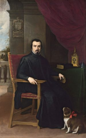 Bartolomé E. Murillo (1617-1682): Don Justino de Neve, 1665.