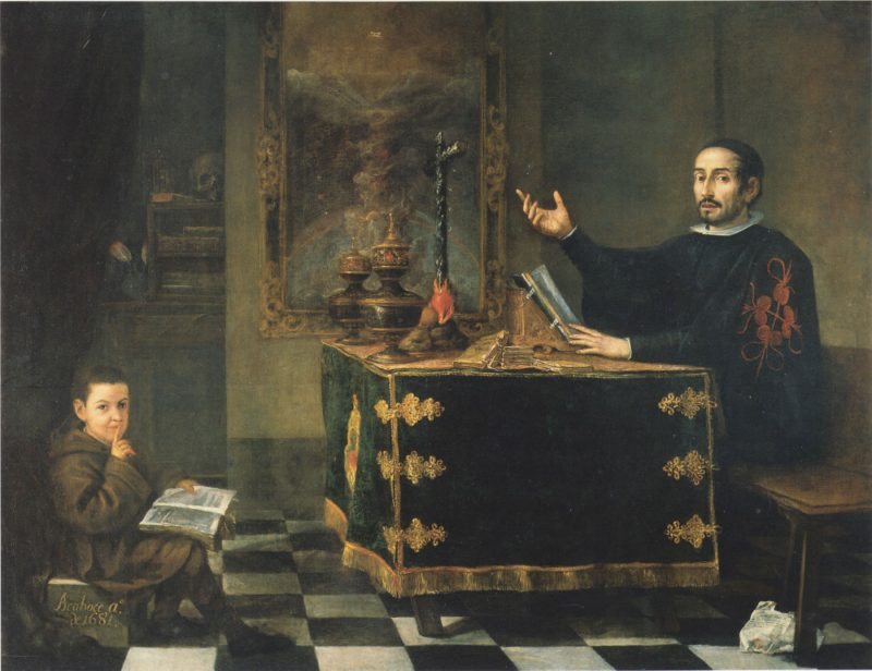 Juan Valdés Leal (1622-1690): Don Miguel de Mañara, 1681.