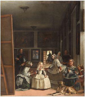 Diego Velázquez (1599-1660): Las meninas, ca. 1656.