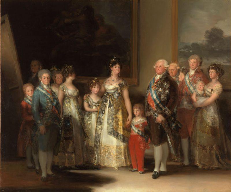 Francisco de Goya (1747-1828): La familia de Carlos IV, 1800.