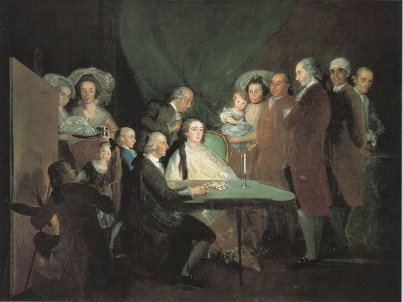 Goya_La familia del infante don Luis