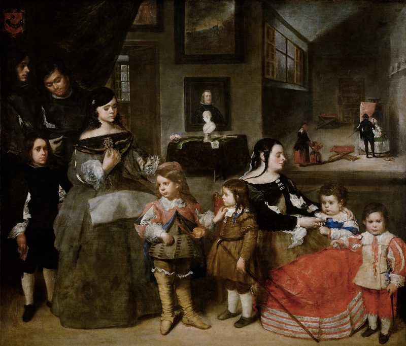 Juan Bautista Martínez del Mazo (1605-1667): La familia del pintor, 1664-1665.