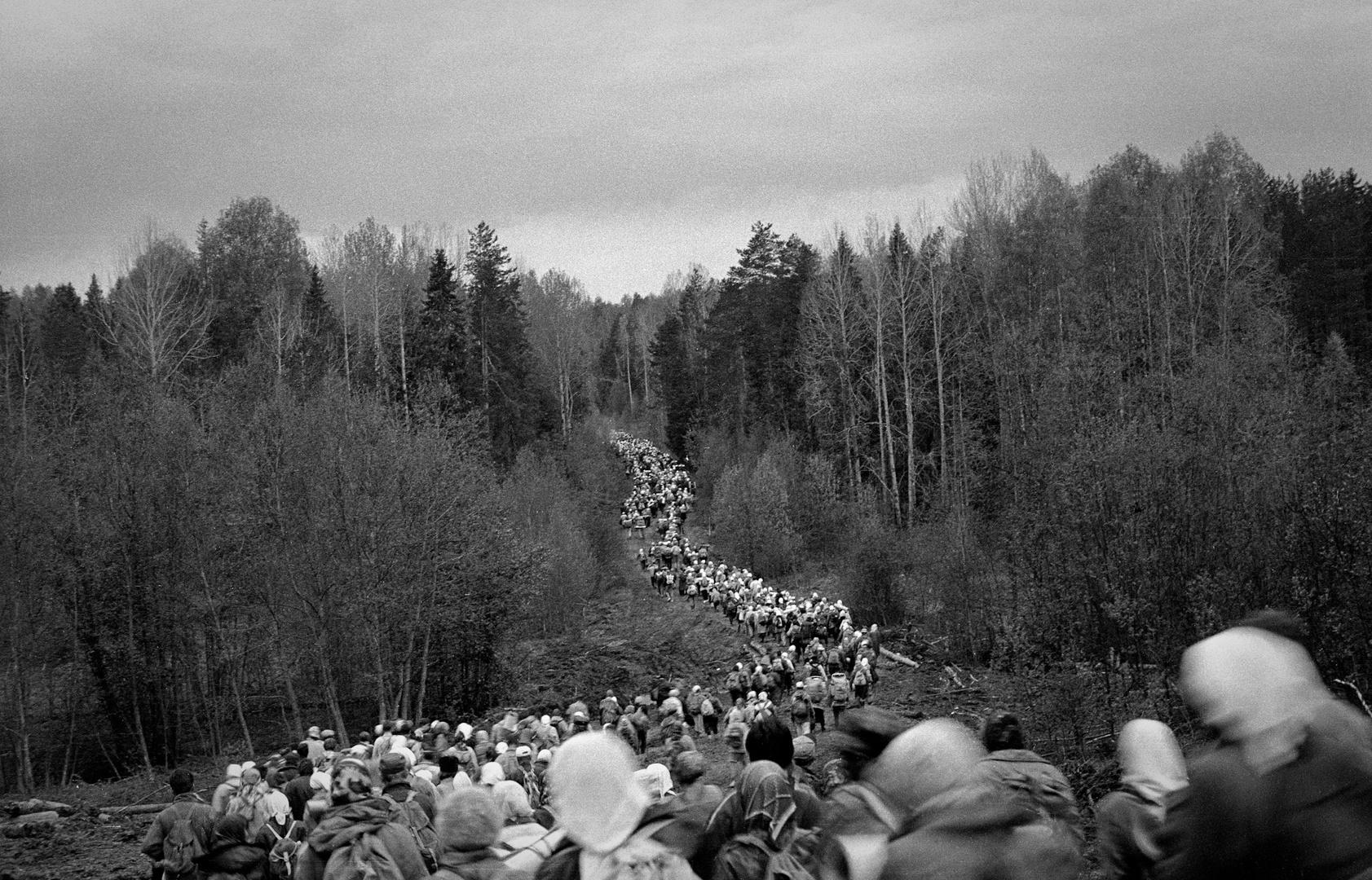 Procesión religiosa Velikoretskoye