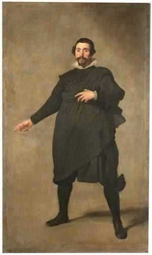 Diego Velázquez (1599-1660): Pablo de Valladolid, ca. 1635.