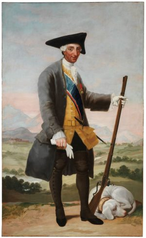 FFrancisco de Goya: (1747-1828): Carlos III, cazador, ca. 1788.