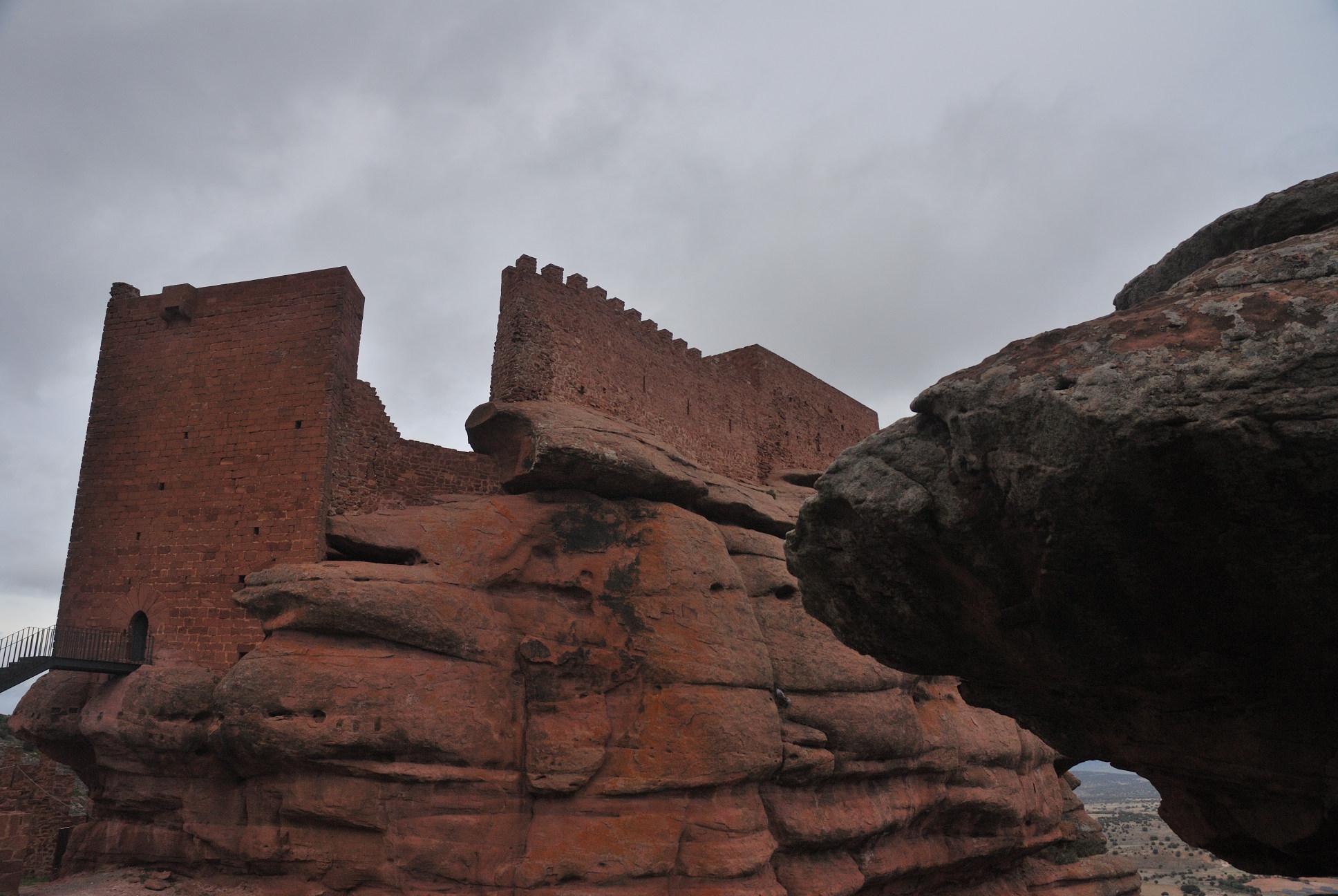 El castillo de Peracense: recinto superior