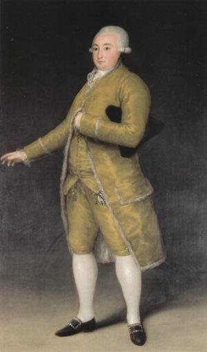 Francisco de Goya (1747-1828): Francisco Cabarrús, 1788.