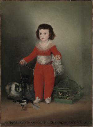 Francisco de Goya (1747-1828): Manuel Osorio Manrique de Zúñiga, 1788
