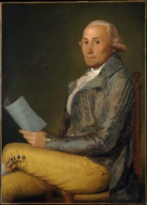 Francisco de Goya (1747-1828): Sebastián Martínez, 1792.