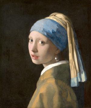 «La joven de la perla» (c. 1665) de Johannes Vermeer