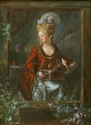 Luis Paret (1746-1799): María de las Nieves Michaela Fourdinier, mujer del pintor.